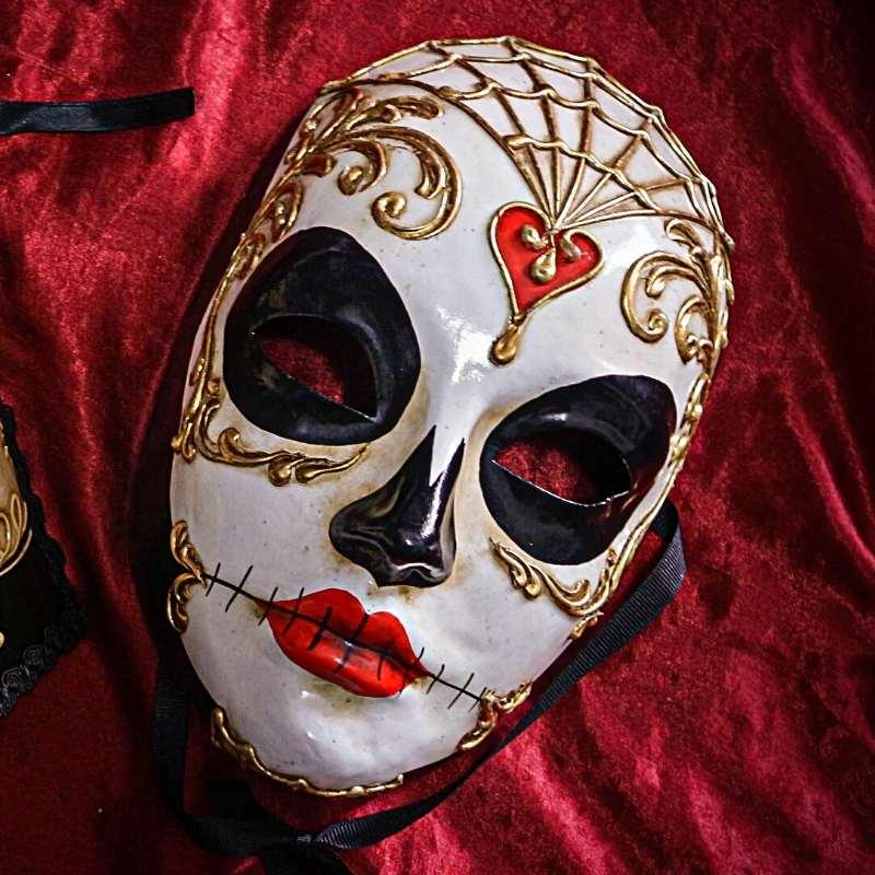 máscara veneciana volto